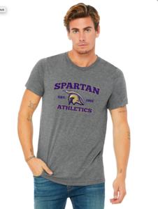 Bella & Canvas Adult T-Shirt with Spartan Logo
